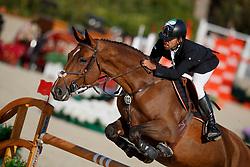 Al Marri Abdullah Mohd, UAE, Sama Dubai FBH<br /> CSIO Barcelona 2017<br /> © Hippo Foto - Dirk Caremans<br /> 28/09/2017