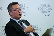 Danny Yuan, Chief Executive Officer and President, Greater China, ManpowerGroup, People's Republic of China during the session: Enabling the Production Workforce of the Future at the World Economic Forum - Annual Meeting of the New Champions in Tianjin, People's Republic of China 2018.Copyright by World Economic Forum / Greg Beadle