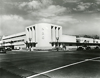 1942 NBC Radio at Sunset Blvd & Vine St