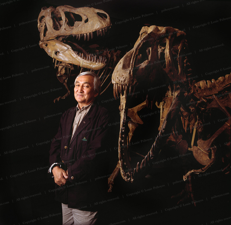 Tarbosaurs from Mongolia with Rinchen Barsbold.