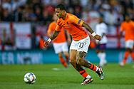 Netherlands forward Memphis Depay (Lyon) during the UEFA Nations League semi-final match between Netherlands and England at Estadio D. Afonso Henriques, Guimaraes, Portugal on 6 June 2019.