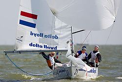 08_01020 © Sander van der Borch. Medemblik - The Netherlands,  May 21th 2008 . First day of the Delta Lloyd Regatta 2008.