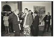PETER DOIG, JARVIS COCKER; ANTHONY D'OFFAY, , Sensation Opening. Royal Academy of Art. London.16 September 1997.