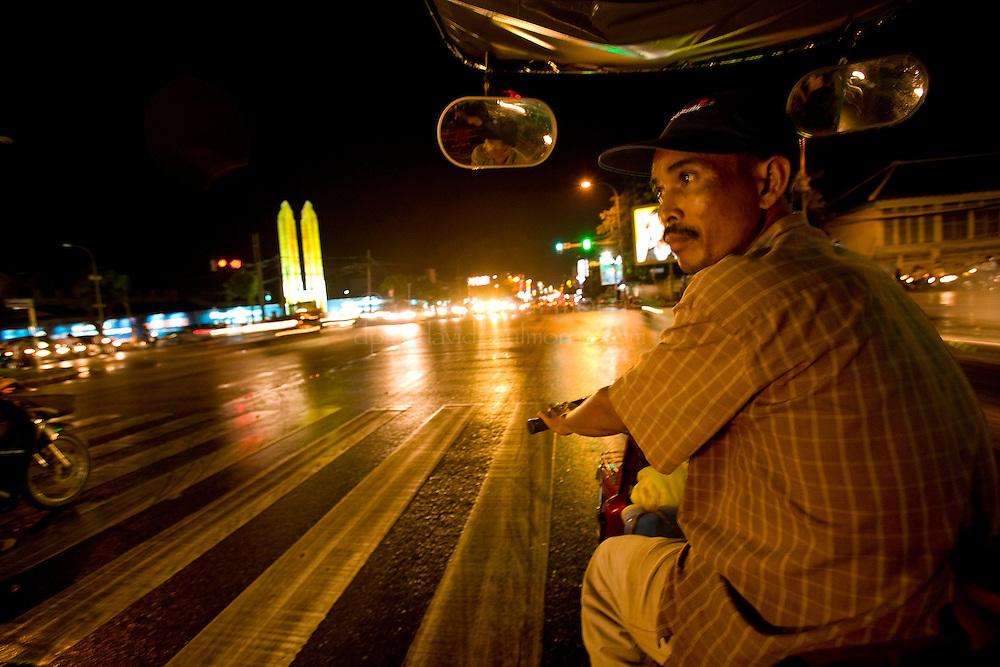 PHNOM PENH, CAMBODIA - OCT 25: Along the streets of Phnom Penh October 25, 2007 in Phnom Penh, Cambodia. (Photograph by David Paul Morris)