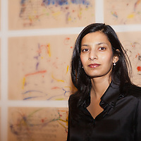 """Priya Basil, English writer at the """"Casa Della Letteratura"""", Rome, Italy. Taken 15th December 2011<br /> <br /> Picture by Steve Bisgrove/Writer Pictures<br /> <br /> WORLD RIGHTS"""