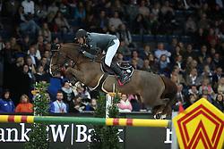 Staut Kevin, (FRA), Reveur de Hurtebise HDC<br /> Grand Prix of Stuttgart <br /> Longines FEI World Cup<br /> Stuttgart - German Masters 2015<br /> © Hippo Foto - Stefan Lafrentz