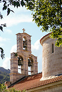 Budva, Montenegro The old town, church of the Holy Trinity