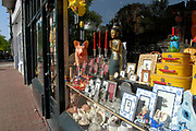 Amsterdam - Netherlands. A store on the Prinsengracht selling all kinds of items mainley for tourits