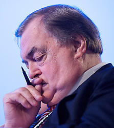 Lord Prescott during the Labour Party Conference in Manchester, October 3, 2012. Photo by Elliott Franks / i-Images.