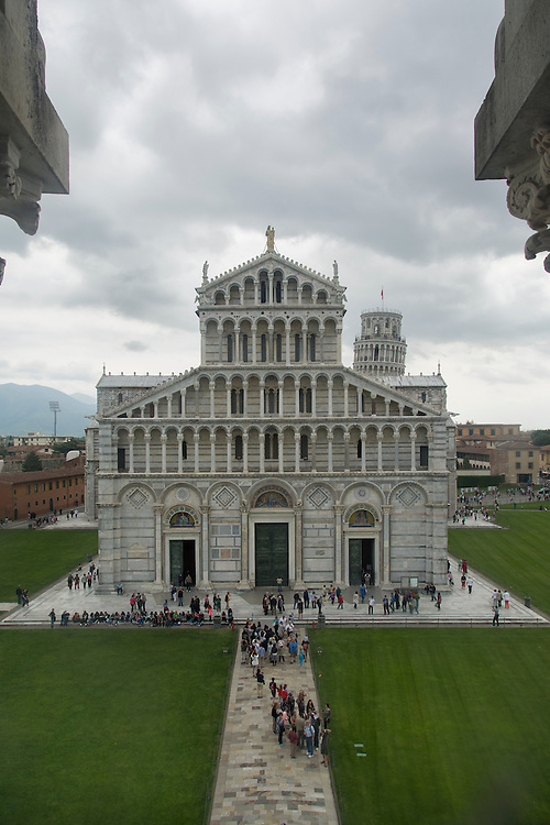 A view from Duomo in Pisa.