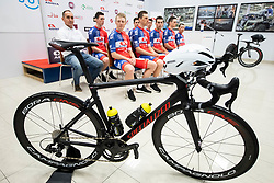 Specialized bike during press conference of Continental Cycling team KK Adria Mobil before new season 2020, on February 17, 2020 in Cesca vas, Novo mesto, Slovenia. Photo by Vid Ponikvar / Sportida