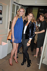 Left to right, NOELLE RENO and LYDIA FORTE at the launch of Quintessentially Soho at the House of St Barnabas, 1 Greek Street, London on 29th September 2009.<br /> <br /> <br /> <br /> <br /> BYLINE MUST READ: donfeatures.com<br /> <br /> *THIS IMAGE IS STRICTLY FOR PAPER, MAGAZINE AND TV USE ONLY - NO WEB ALLOWED USAGE UNLESS PREVIOUSLY AGREED. PLEASE TELEPHONE 07092 235465 FOR THE UK OFFICE.*
