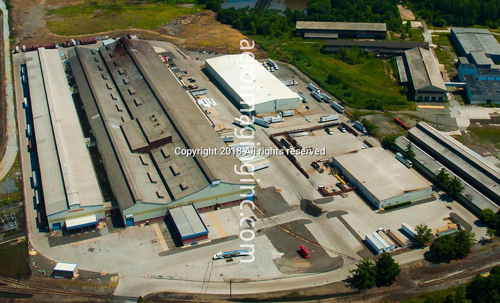 aerial view  Del Monte Philadelphia Distribution Facility;