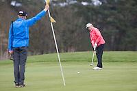 LOCHEM -  Noa van Beek en Tijn Langenberg .Jeugdgolf op de  Lochemse Golf Club De Graafschap. COPYRIGHT KOEN SUYK