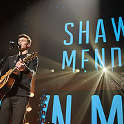 WASHINGTON, DC - December 15th, 2014 - Shawn Mendes performs during HOT 99.5's Jingle Ball 2014 at the Verizon Center in Washington, D.C. (Photo By Kyle Gustafson / For The Washington Post)