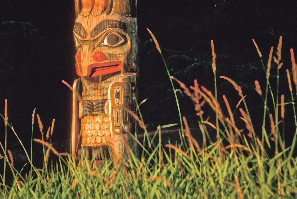 Totem Bight Sate Historic Park, near Ketchikan, Alaska