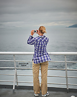 Images from the deck of the MV Columbia. Alaska Marine Highway Ferry transiting the Inside Passage from Washington to Alaska. Image taken with a Nikon D3x camera and 70-300 mm VR lens.