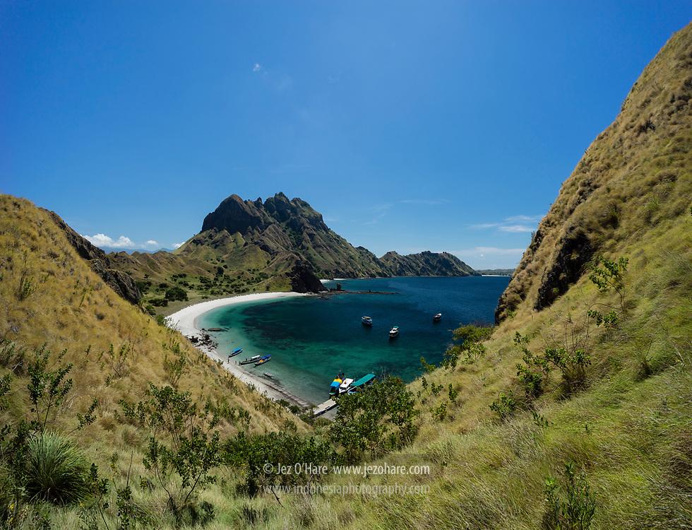 Pulau Padar, Taman Nasional Komodo, Manggarai Barat, Flores, Nusa Tenggara Timur, Indonesia