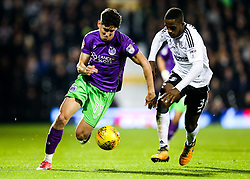 Callum O'Dowda of Bristol City is challenged by Ryan Sessegnon of Fulham - Rogan/JMP - 31/10/2017 - Craven Cottage - London, England - Fulham FC v Bristol City - Sky Bet Championship.
