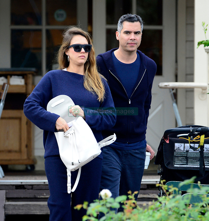 EXCLUSIVE: Jessica Alba displays her huge baby bump after leaving Le Pain Quotidien with hubby Cash warren in West Hollywood. 12 Nov 2017 Pictured: Jessica Alba, Cash Warren. Photo credit: MEGA TheMegaAgency.com +1 888 505 6342