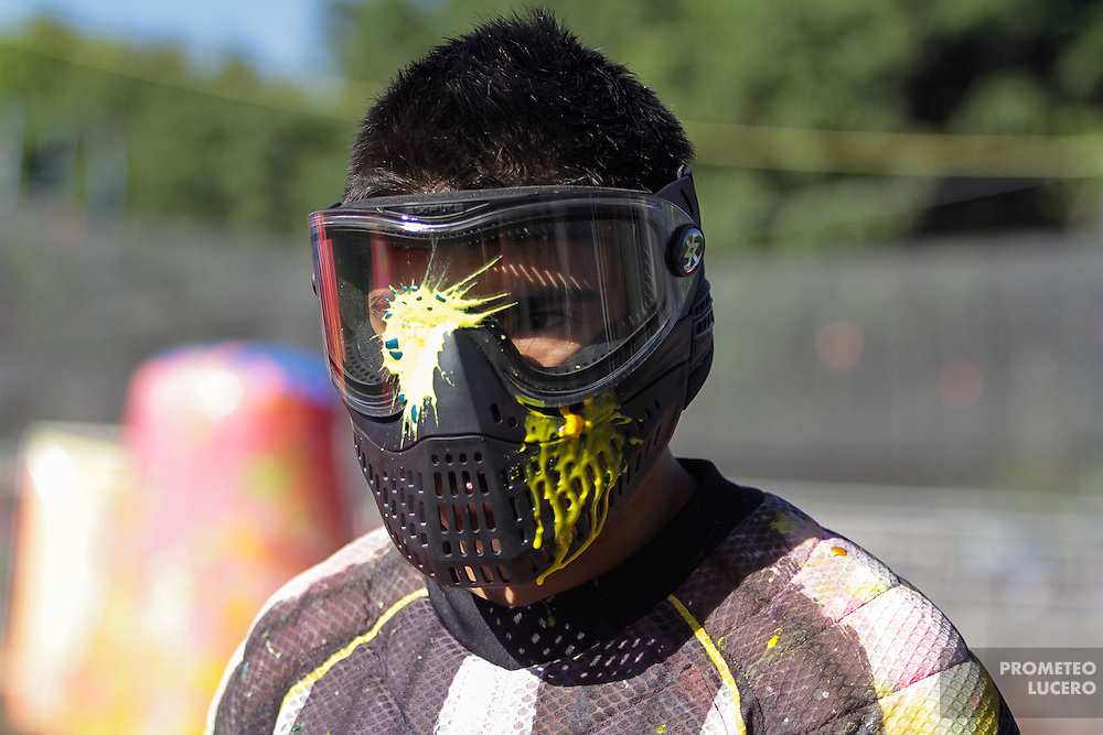 Mexican Paintball League tournament, Mexico City, march 2 and 3rd, 2013.  (Photo: Prometeo Lucero)