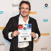 NLD/Utrecht/20171002 - Uitreiking Buma NL Awards 2017, Marco Borsato wint de Award in de categorie Beste Singel Polulair