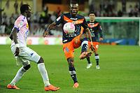 FOOTBALL - FRENCH CHAMPIONSHIP 2011/2012 - L1 - MONTPELLIER HSC v EVIAN TG - 1/05/2012 - PHOTO SYLVAIN THOMAS / DPPI - HENRI BEDIMO (MHSC)