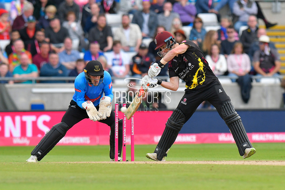 Tom Abell of Somerset batting during the Vitality T20 Finals Day semi final 2018 match between Sussex Sharks and Somerset County Cricket Club at Edgbaston, Birmingham, United Kingdom on 15 September 2018.
