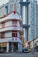 Singapour, Chinatown, restaurant art deco Potato Head // Singapore, Chinatown, art deco restaurant Potato Head