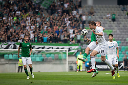 Ricardo Alves Coelho Da Silva of NK Olimpija Ljubljana and Josip Balic of NK Krsko during football match between NK Olimpija Ljubljana and NK Krsko in Round #35 of Prva liga Telekom Slovenije 2017/18, on May 23, 2018 in SRC Stozice, Ljubljana, Slovenia. Photo by Urban Urbanc / Sportida