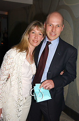 PEREGRINE & CAROLINE ARMSTRONG-JONES at a private screening of 'Sketches of Frank Gehry in association with jewellers Tiffany held at the Curzon Cinema, Mayfair on 10th May 2006 followed by a party at Nobu Mayfair, Berkeley Street.<br /><br />NON EXCLUSIVE - WORLD RIGHTS