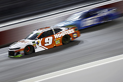 September 22, 2018 - Richmond, Virginia, United States of America - Chase Elliott (9) battles for position during the Federated Auto Parts 400 at Richmond Raceway in Richmond, Virginia. (Credit Image: © Chris Owens Asp Inc/ASP via ZUMA Wire)