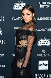 Actress Olivia Culpo attends the Harper's Bazaar Icons by Carine Roitfeld celebration at The Plaza Hotel in New York, NY on September 8, 2017.  (Photo by Stephen Smith/SIPA USA)