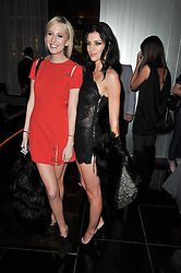 Left to right, the HON.SOPHIA HESKETH and LIBERTY ROSS at a party to celebrate the 15th birthday of Vogue.com held at W Hotel, Leicester Square, London W1 on 17th February 2011.