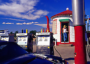 Image of the Teapot Dome Gas Station in Zillah, Washington, Pacific Northwest by Andrea Wells