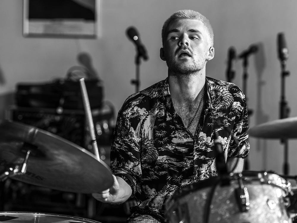 Max Doohan of British post-rock band Another Sky at Haldern Pop Festival