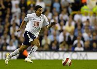 Photo: Daniel Hambury.<br />Tottenham Hotspur v Sheffield United. The Barclays Premiership. 22/08/2006.<br />Tottenham's Aaron Lennon.