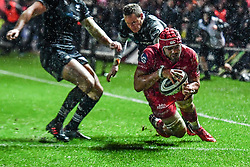 - Mandatory by-line: Craig Thomas/Replay images - 26/12/2017 - RUGBY - Parc y Scarlets - Llanelli, Wales - Scarlets v Ospreys - Guinness Pro 14