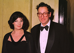 LORD & LADY SAATCHI at a dinner in London on 5th November 1998.<br /> MLR 34