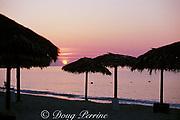 sunrise at Lucaya, Grand Bahama Island,<br /> Bahamas ( Western Atlantic Ocean )