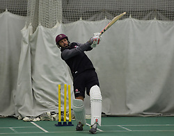 Somerset's Peter Trego in action. - Mandatory byline: Alex Davidson/JMP - 25/02/2016 - CRICKET - The Cooper Associates County Ground -Taunton,England - Somerset CCC  Media access - Pre-Season