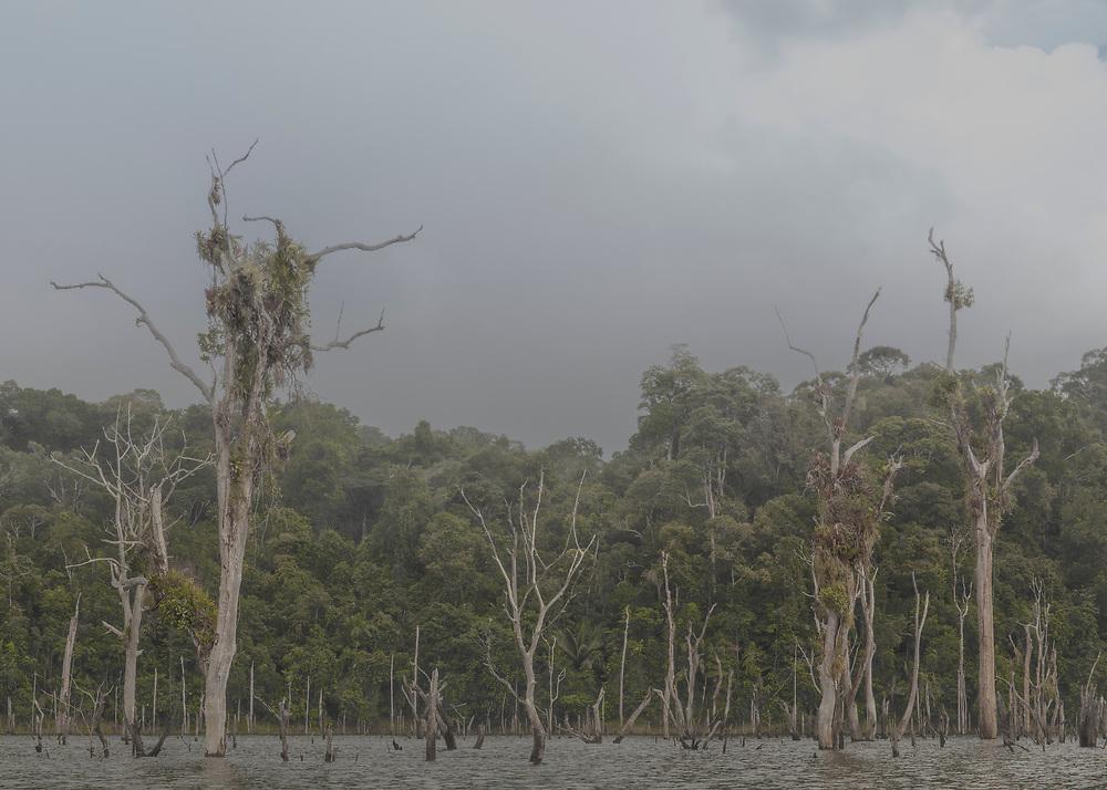 Barrage de Petit-Saut, Guyane, 2015.