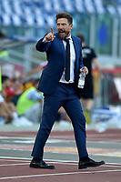 Eusebio Di Francesco, Roma coach.<br /> Roma 20-10-2018 Stadio Olimpico<br /> Football Calcio Campionato Serie A<br /> 2018/2019 <br /> Roma - Spal<br /> Foto Antonietta Baldassarre / Insidefoto