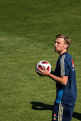 July 4, 2018 - Gelendzhik, Russia - 180704 Emil Forsberg of the Swedish national football team at a practice session during the FIFA World Cup on July 4, 2018 in Gelendzhik..Photo: Petter Arvidson / BILDBYRN / kod PA / 92081 (Credit Image: © Petter Arvidson/Bildbyran via ZUMA Press)
