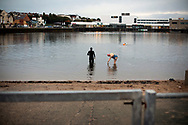 The Mersey Dips project. Photographer Colin McPherson followed an ever-growing ad hoc community of people who swim in the river Mersey at various locations on the Wirral peninsula. He began photographing in September 2018.