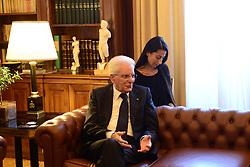 September 6, 2017 - Athens, Greece - President of Italy Sergio Mattarella, during the meeting with President of Hellenic Republic Prokopis Pavlopoulos. (Credit Image: © Dimitrios Karvountzis/Pacific Press via ZUMA Wire)