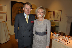 LONDON, ENGLAND 28 NOVEMBER 2016: Frank & Susan Partridge at a reception to celebrate the publication of The Sovereign Artist by Christopher Le Brun and Wolf Burchard held at the Royal Academy of Art, Piccadilly, London, England. 28 November 2016.
