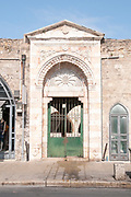 Disused entrance to Muhamidiya mosque (The Great Mosque) Jaffa, Israel
