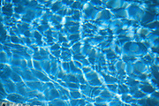Blue Water Swimming Pool Reflections