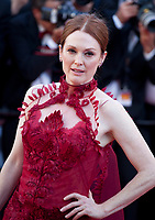 Actress Julianne Moore at the opening ceremony and Ismael's Ghosts (Les Fantômes D'ismaël) gala screening,  at the 70th Cannes Film Festival Wednesday May 17th 2017, Cannes, France. Photo credit: Doreen Kennedy